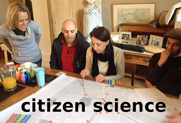 Organising a Citizen Science project, Lee Green, London