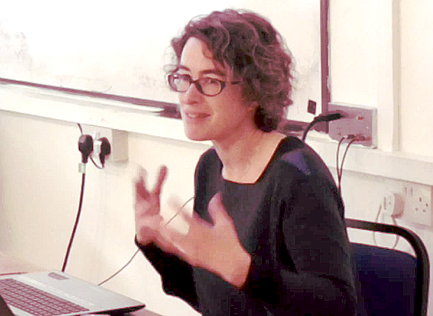 Elenor Margolis described her project at Dog Kennel Hill school in Camberwell, London