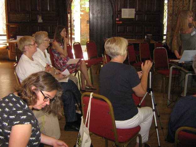 Audience for the presentation by Louise and Imogen from A Better Lee Green